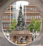 Brunnen am Paradeplatz....