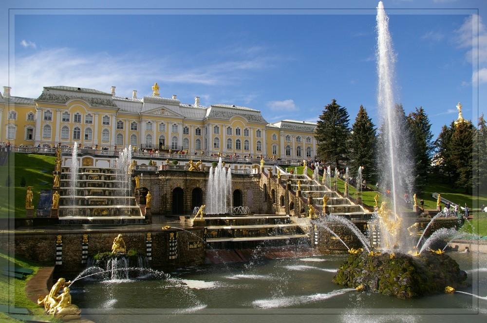 Brunnen am Peterhof