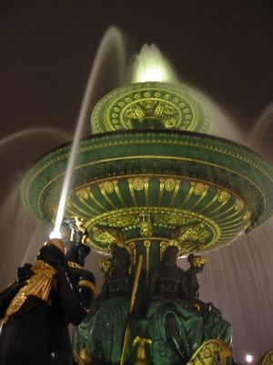 Brunnen am Place de la Concorde ...