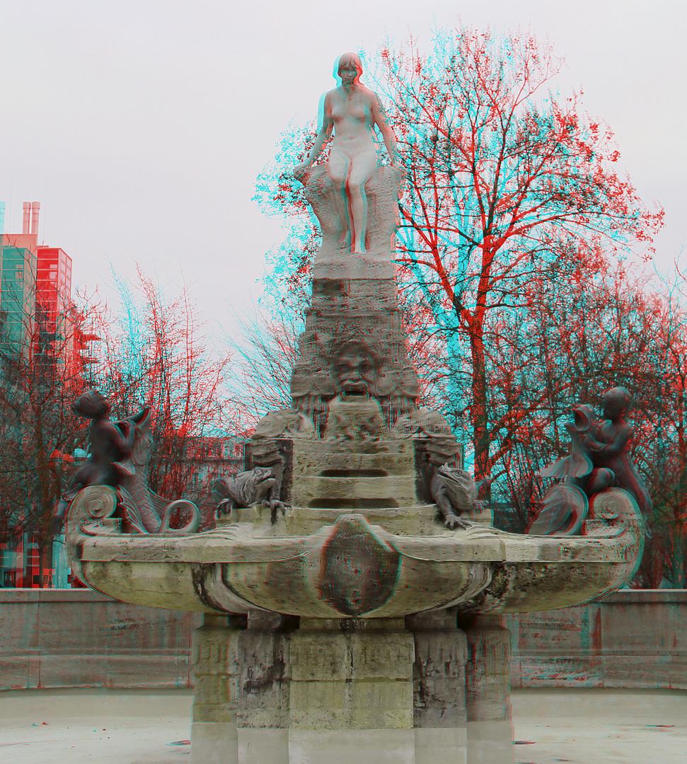 Brunnen am Schauspielhaus Frankfurt