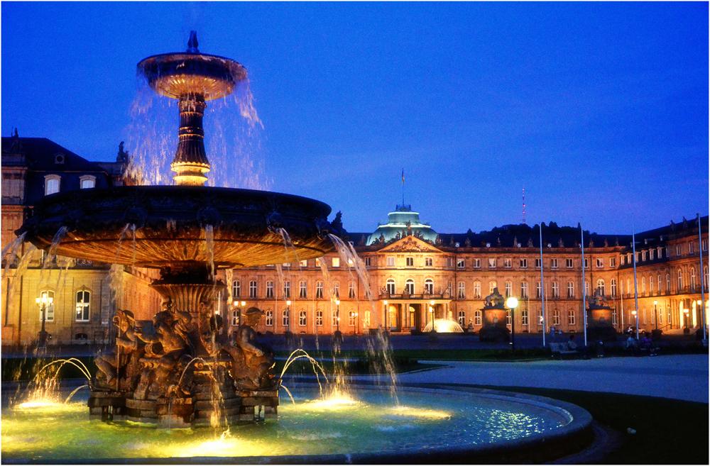 Brunnen am Stuttgarter Schlossplatz