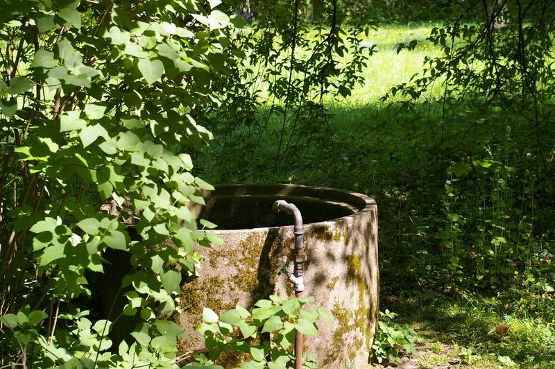 Brunnen auf dem Lindener Bergfriedhof