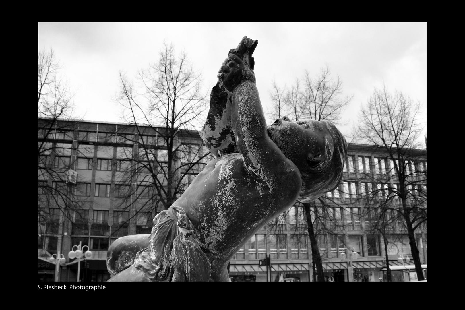 Brunnen auf dem Paradeplatz, Mannheim