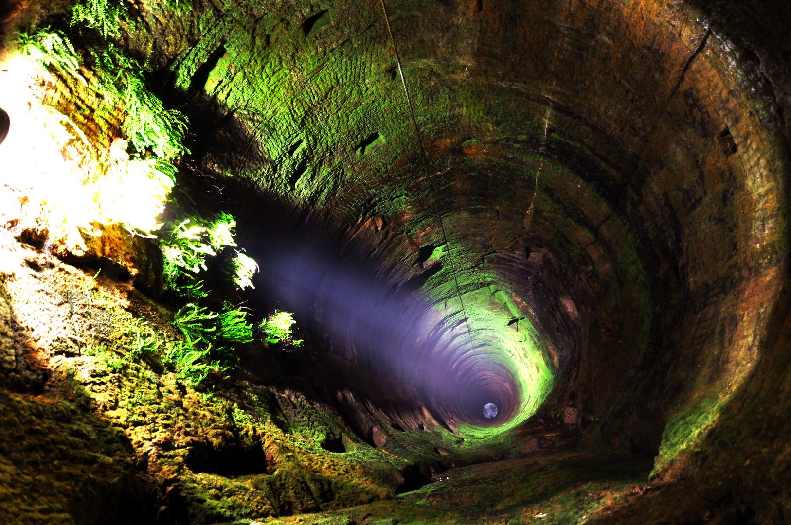 Brunnen auf der Festung Königstein