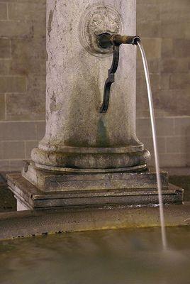 Brunnen bei der Stadtkirche...