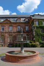 Brunnen bei Villeroy&Boch im Park,Alte Abtei