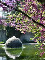 Brunnen im Kölner Rheinpark