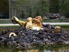 Brunnen im Park von Versailles