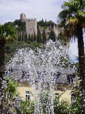 Brunnen in Arco Gardasee 2009