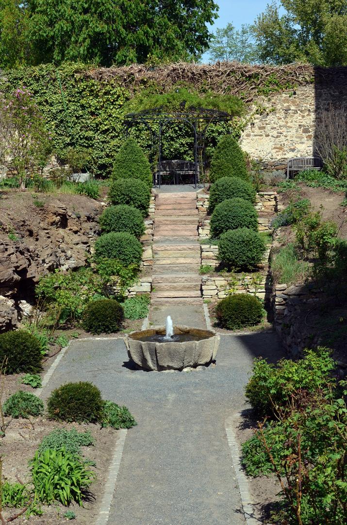 Brunnen in der Rosenburg