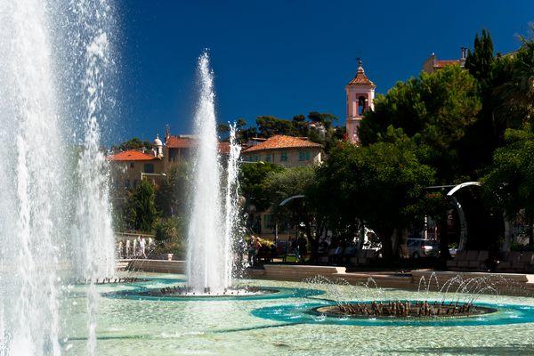 Brunnen in Nizza