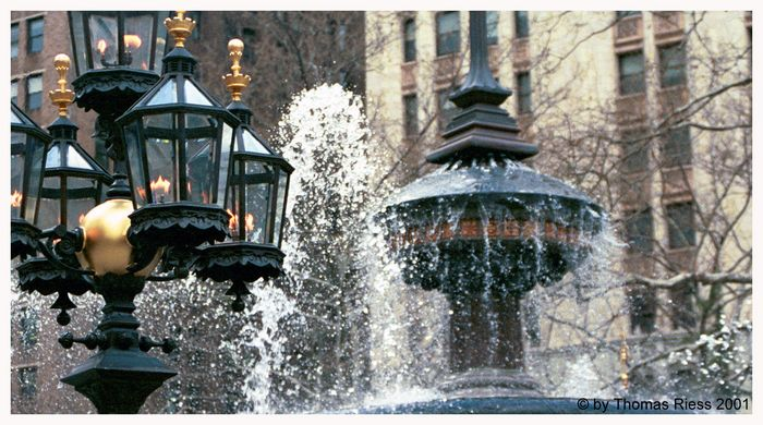 Brunnen in NY