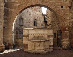 Brunnen in Perugia
