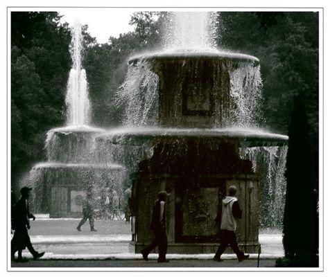 Brunnen in Peterhof