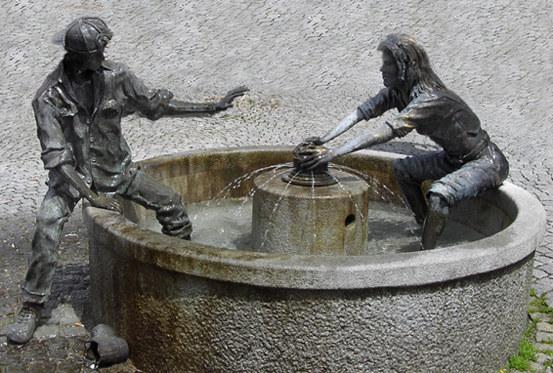 Brunnen in Pfronten