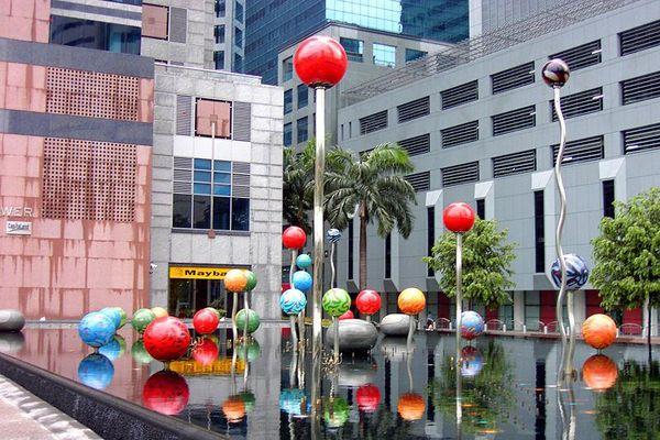 Brunnen in Singapur