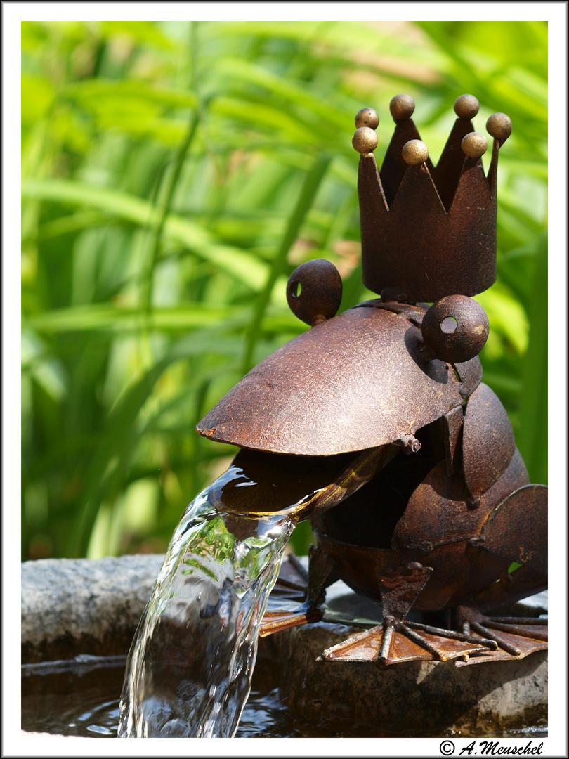 Brunnen und Frosch