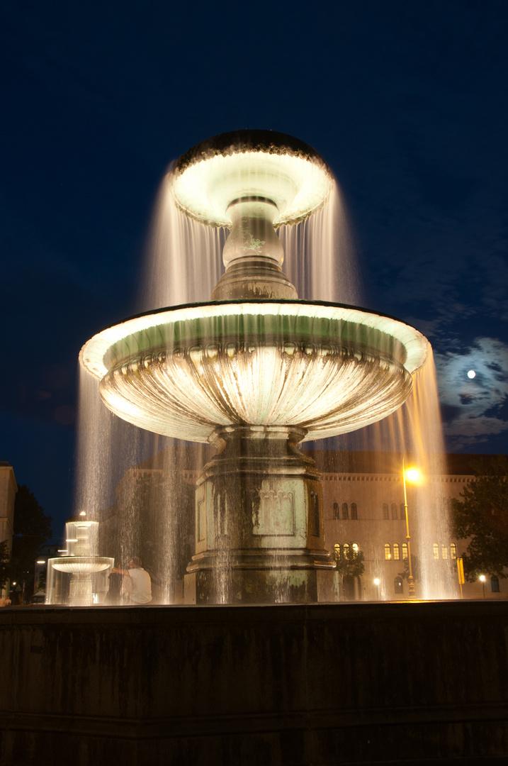 Brunnen Universität München