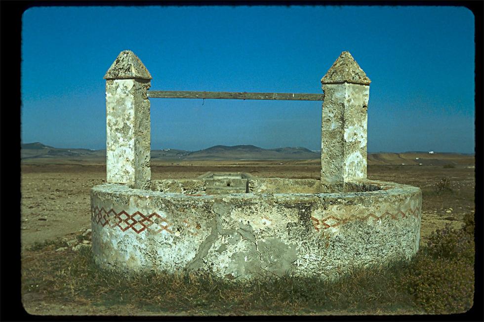 Brunnen (Well) in Conil de la Frontera (Cadiz)