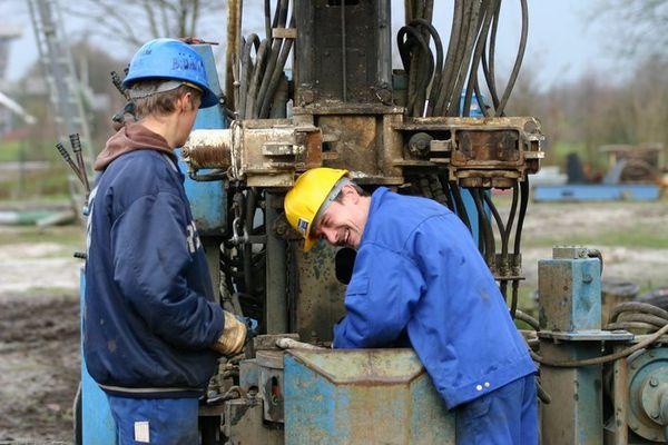Brunnenbauer, ein Beruf der Spaß macht.
