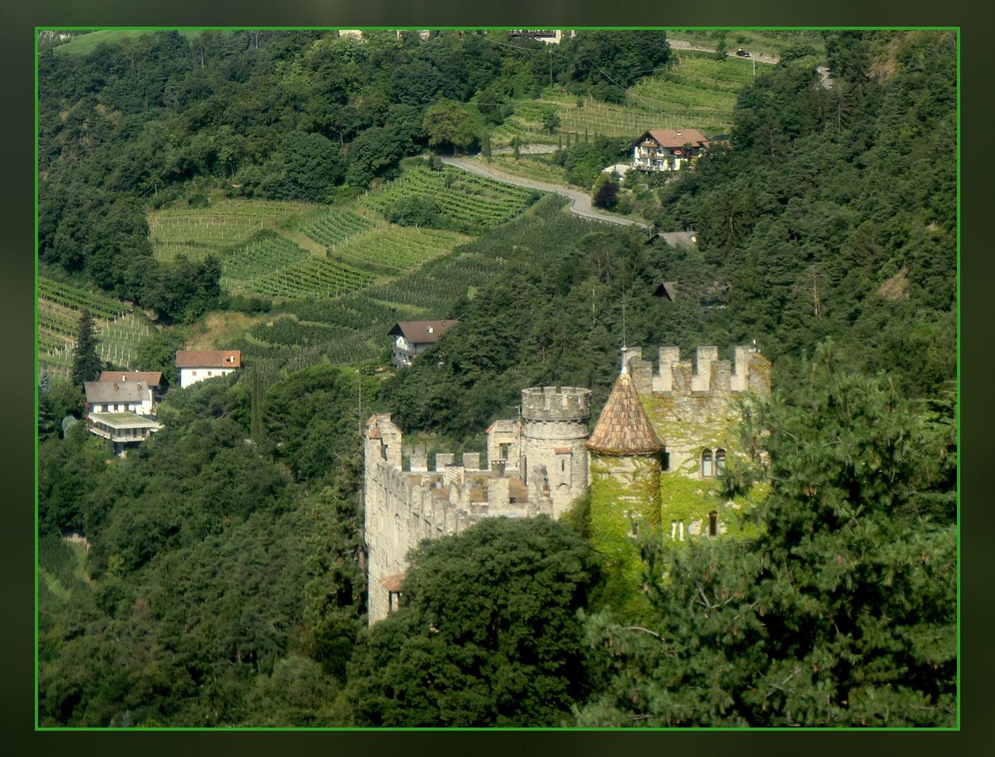 Brunnenburg im Südtirol