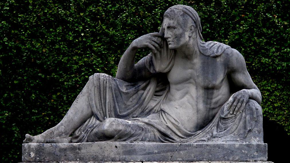 Brunnenfigur in Gönnerpark