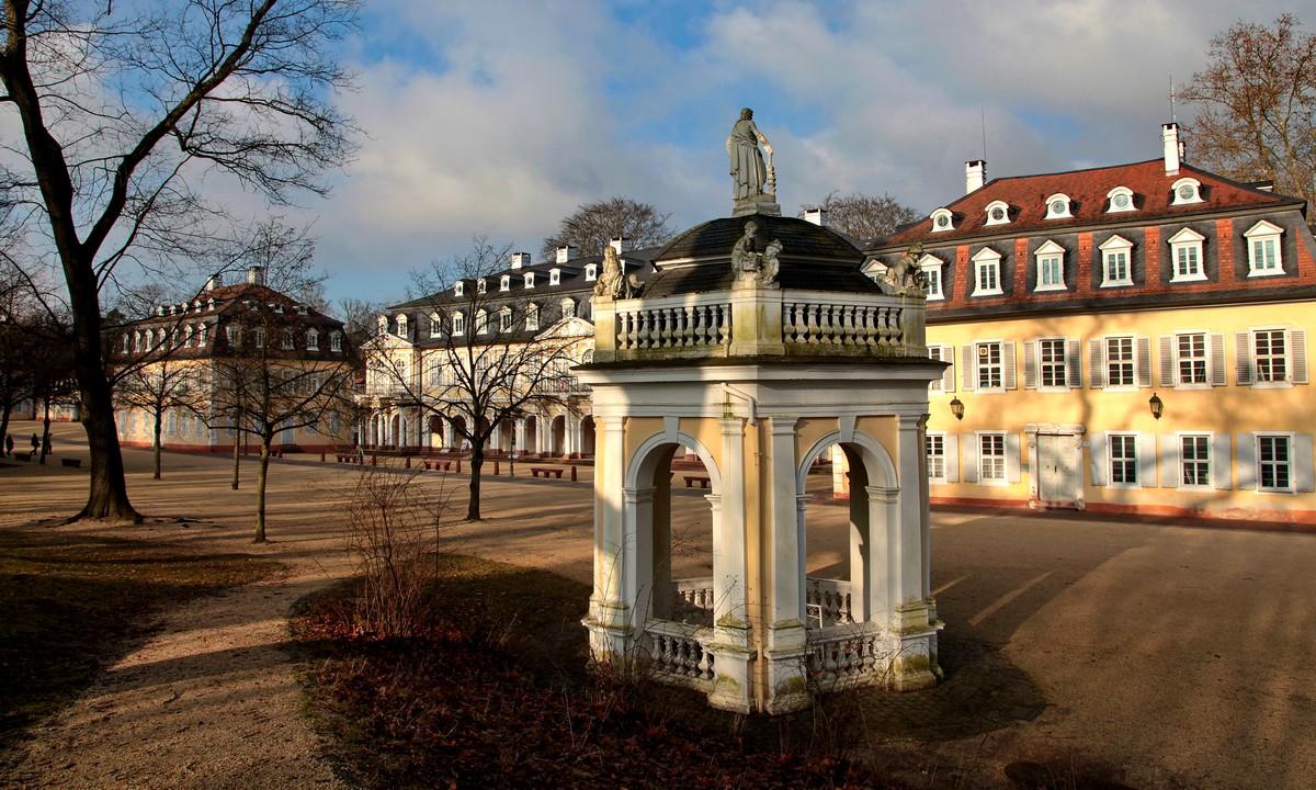 Brunnentempel in Wilhelmsbad