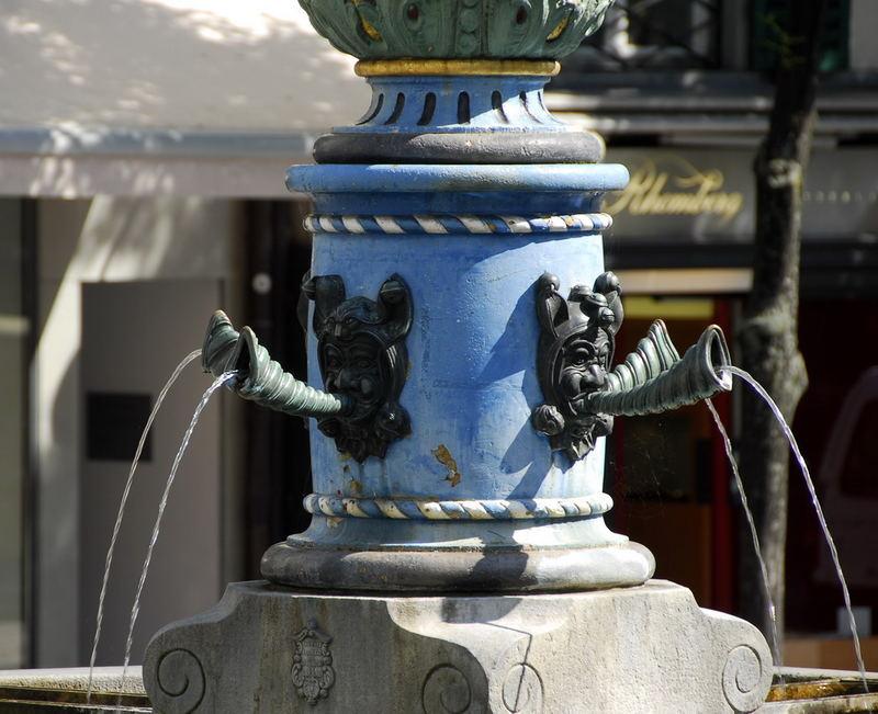 Brunnenteufel in Luzern