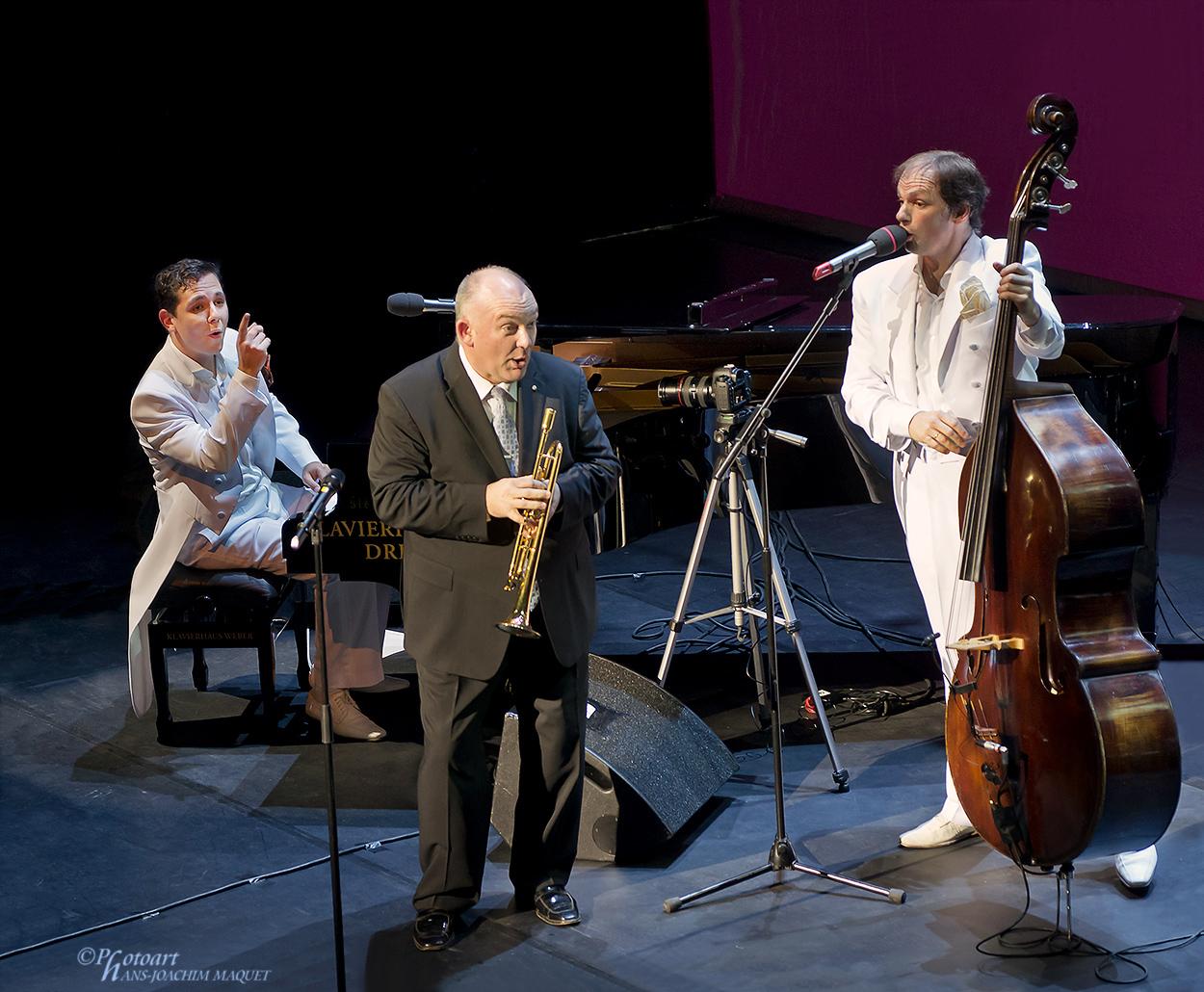 Bruno Böhmer-Camacho, James Morrison, Kilian Forster