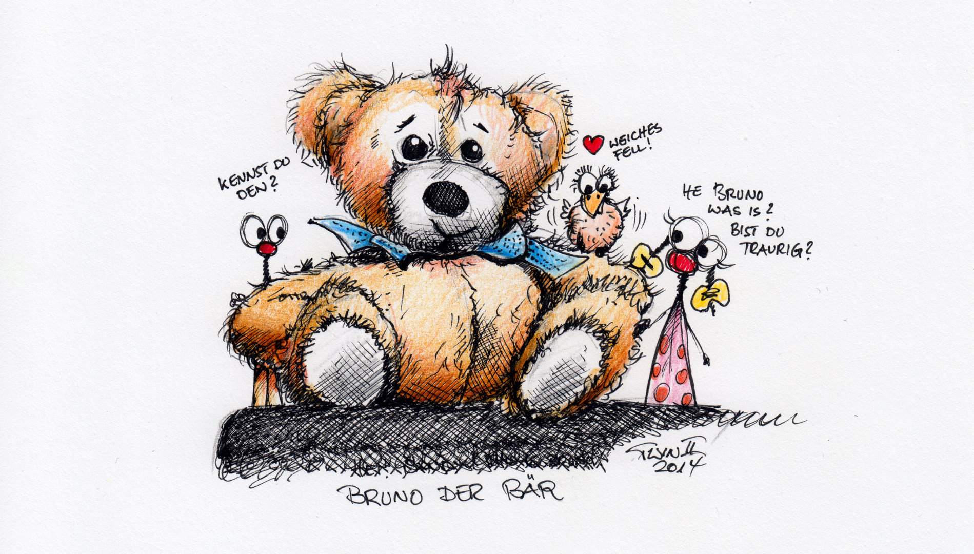 Bruno der Bär...