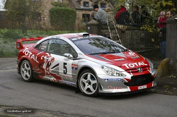 Bruno Thiry auf Peugeot 307 WRC