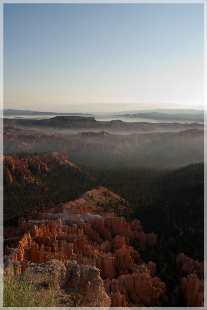 Bryce Canyon after sunrise