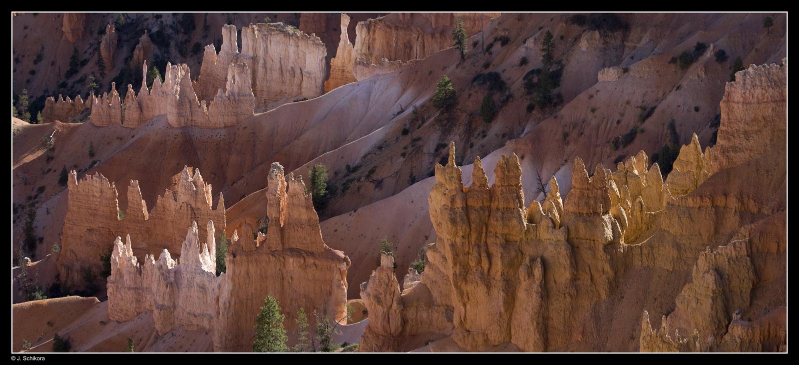 Bryce Canyon im Abendlicht