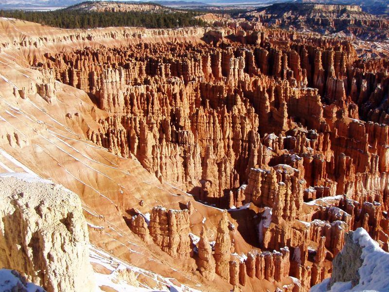 Bryce Canyon im Schnee 2