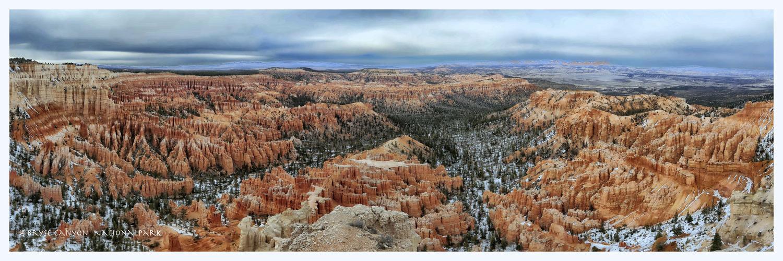 bryse canyon am spätnachmittag