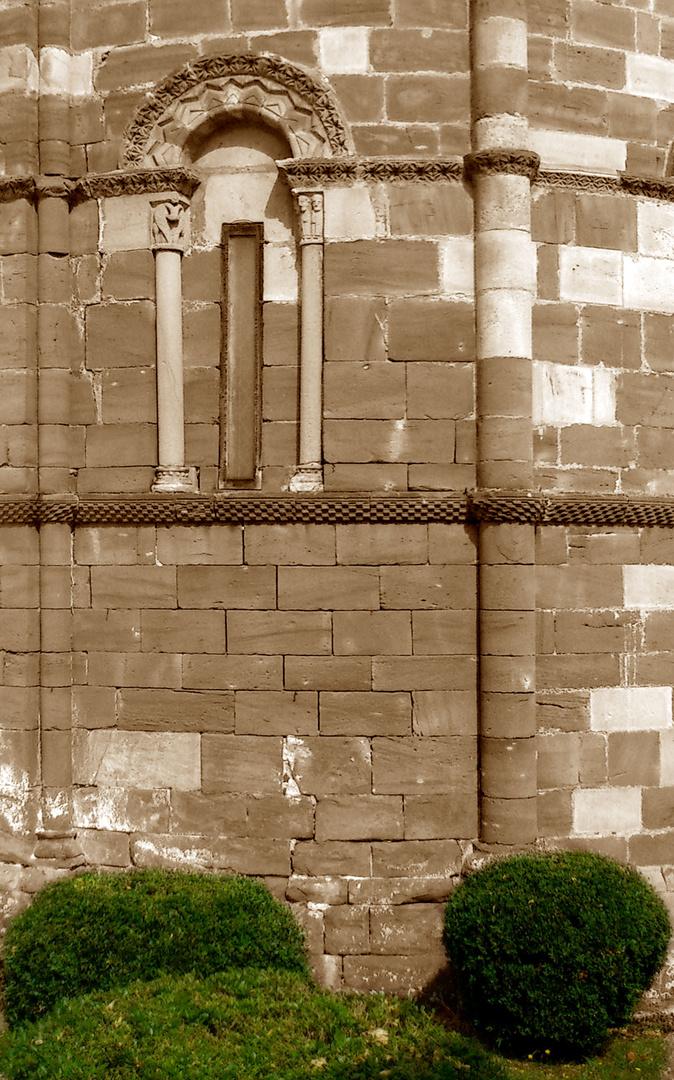 Ábside de San Juan de Amandi, Villaviciosa, Asturias