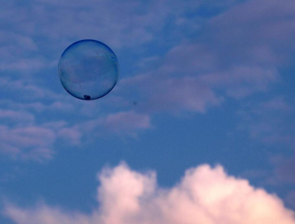 ....bubble....