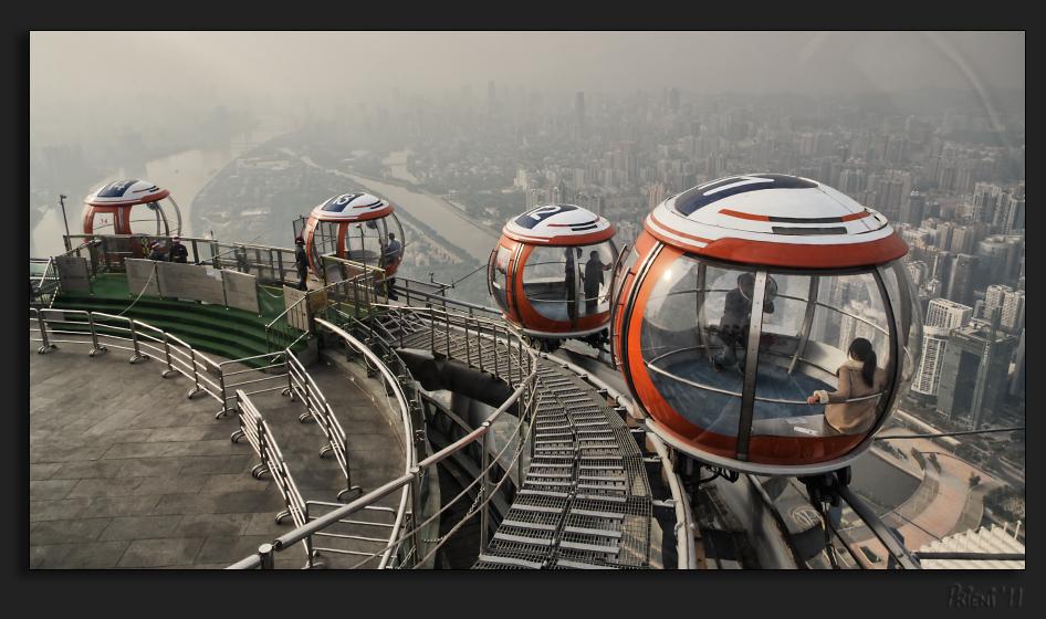 Bubble tram