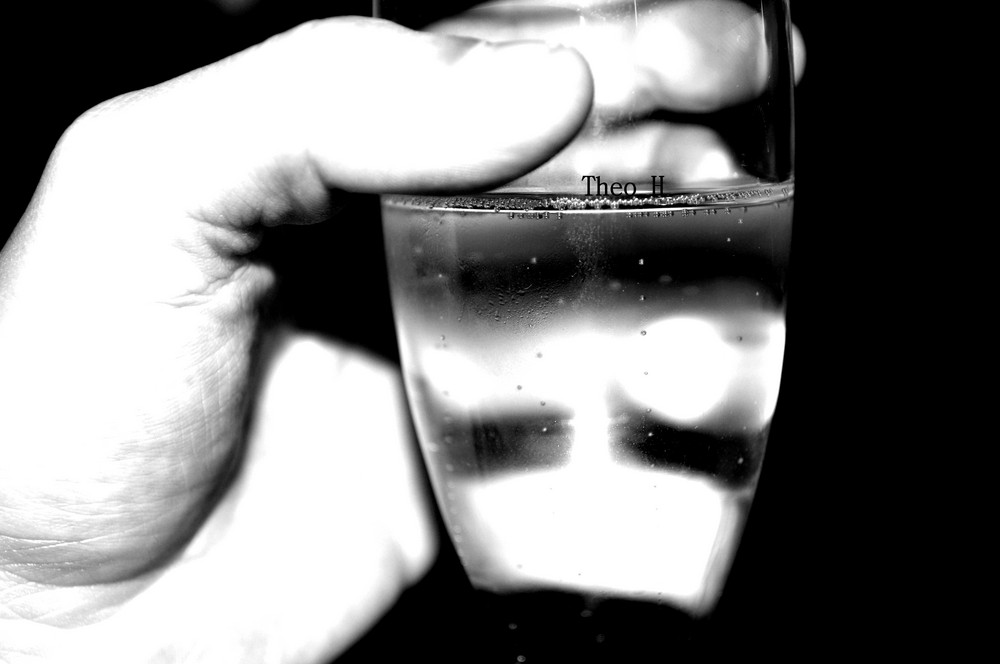Bubbly.