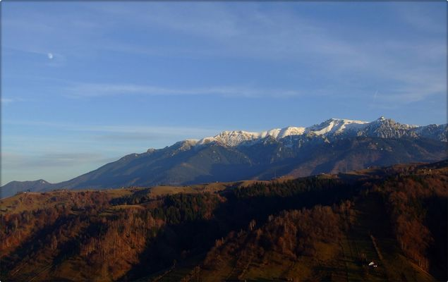 Bucegi mountains landscapes