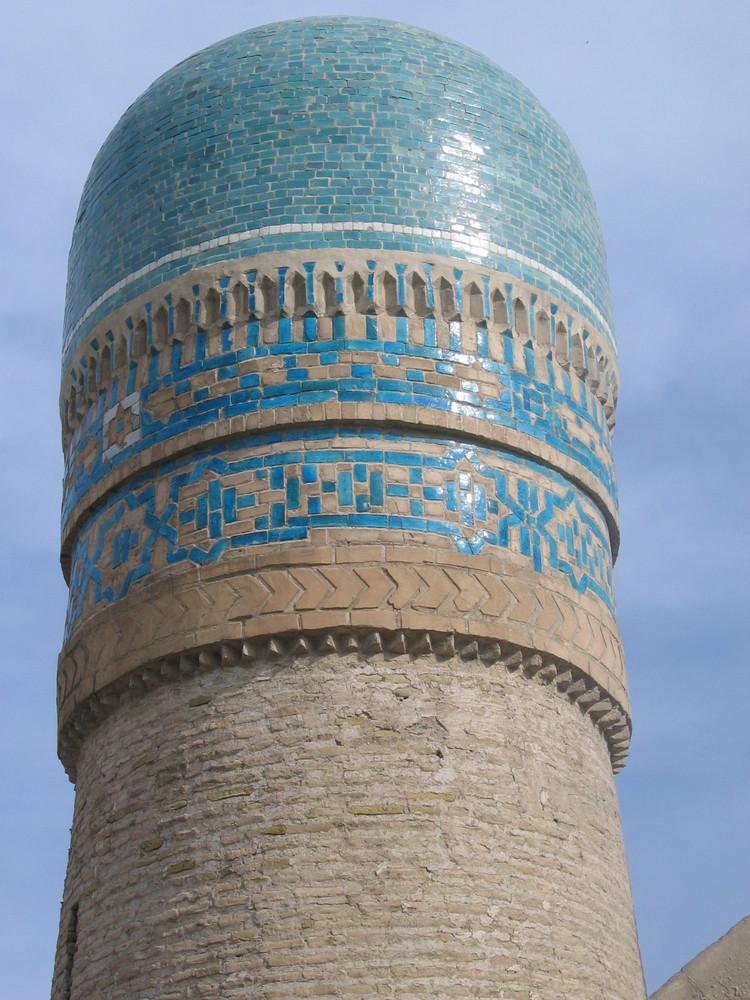 Buchara - Minarett Tschor-Menar