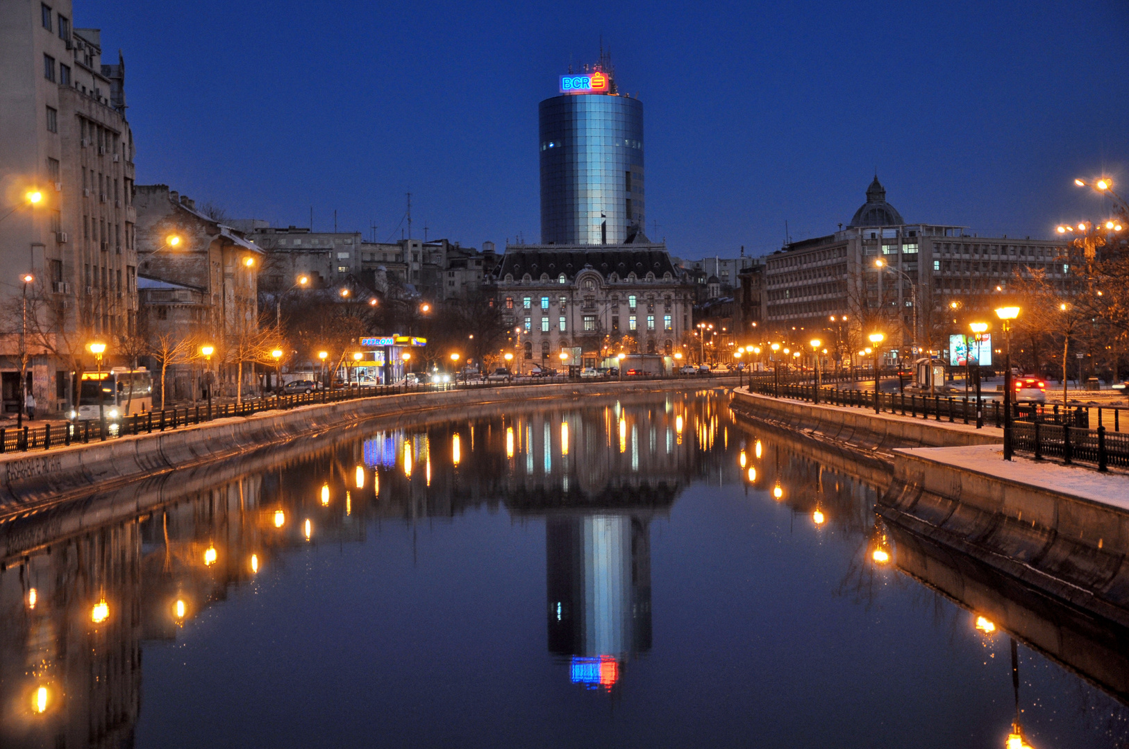 Bucharest - The blue hour