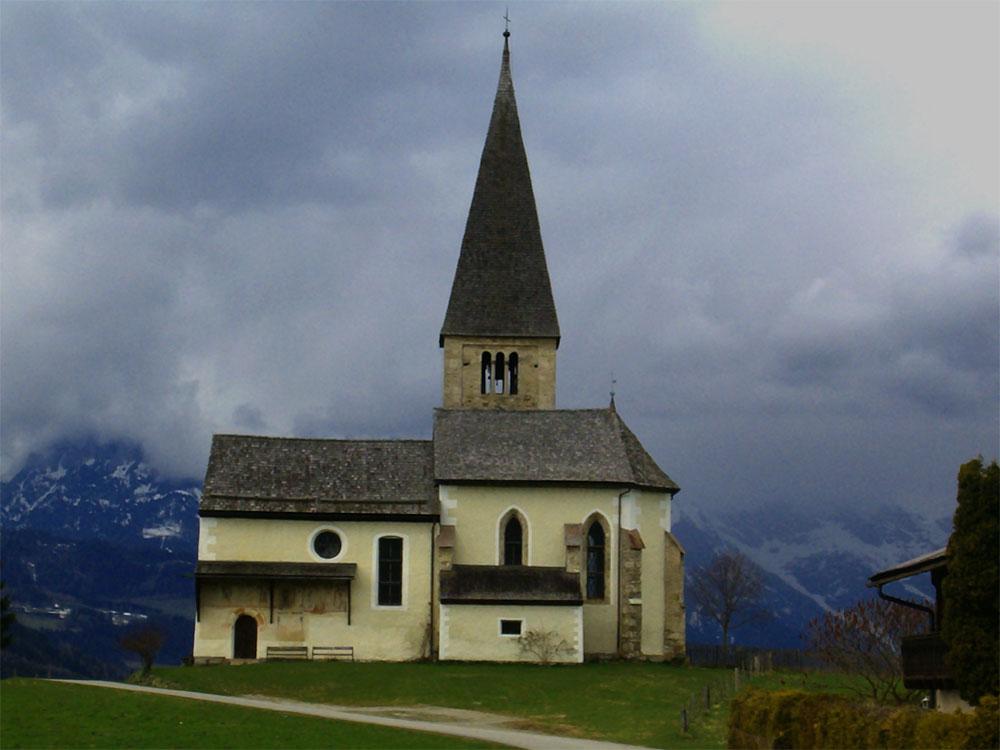 buchbergkirche in bischofshofen
