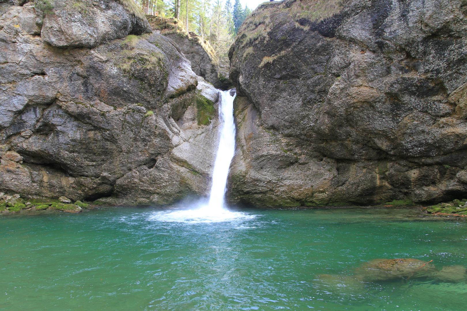 Buchenegger Wasserfälle 2