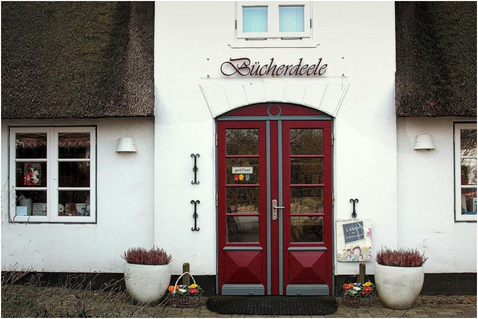 Buchkauf in Keitum ...