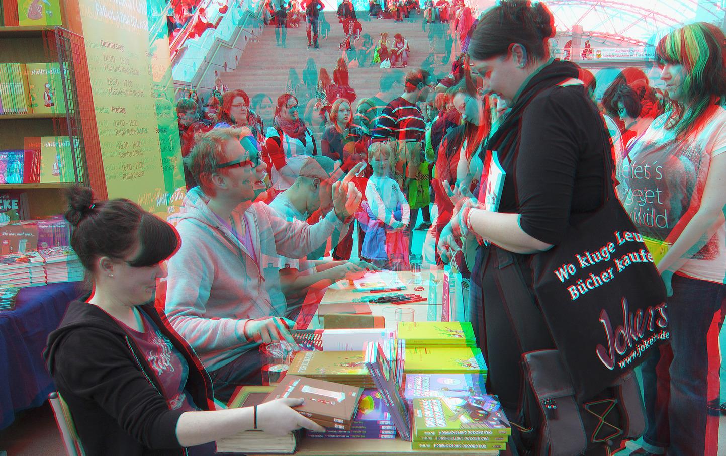 Buchmesse Leipzig 2013 (3D-Foto Nr. 03)