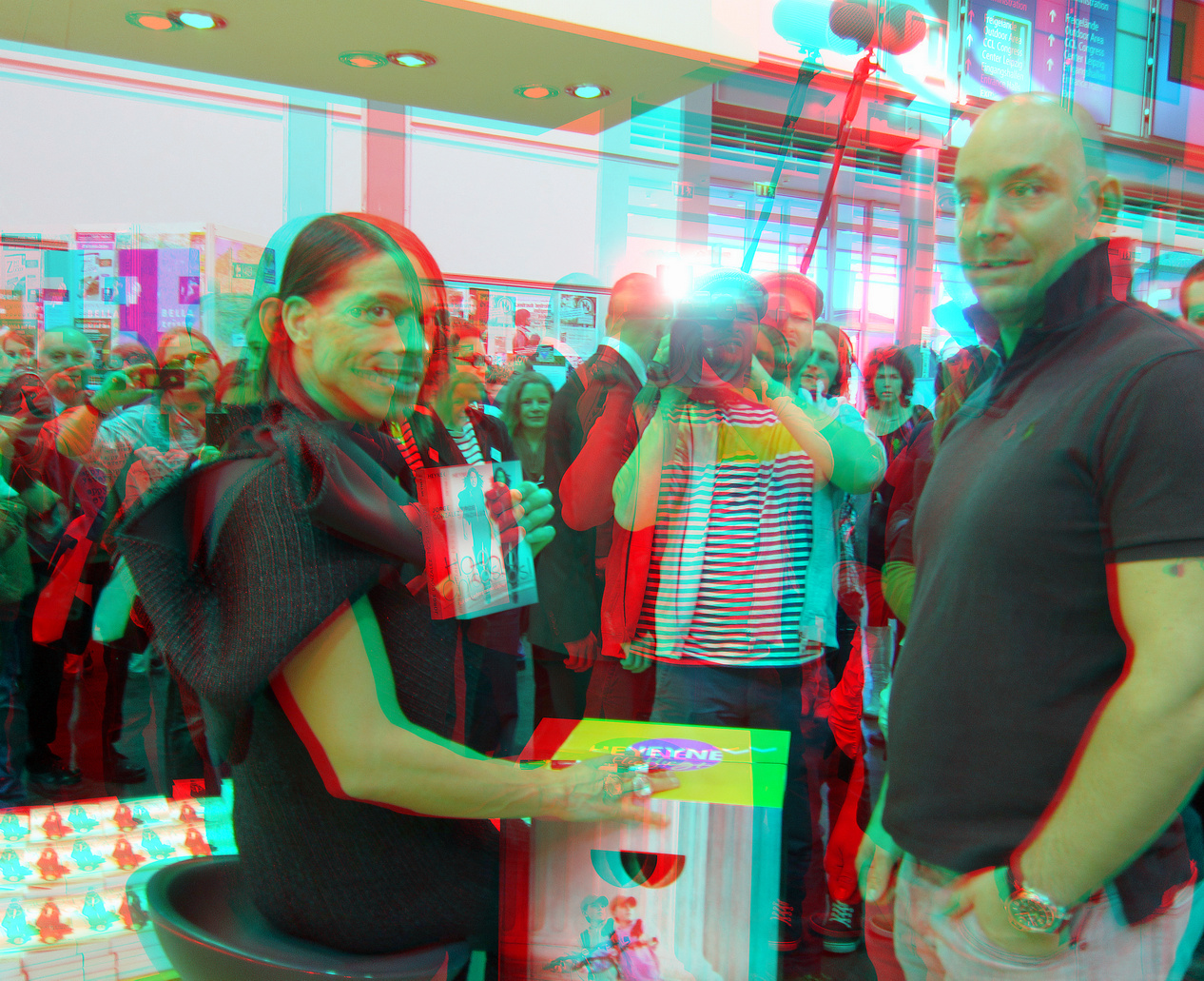 Buchmesse Leipzig 2013 (3D-Foto Nr. 15)