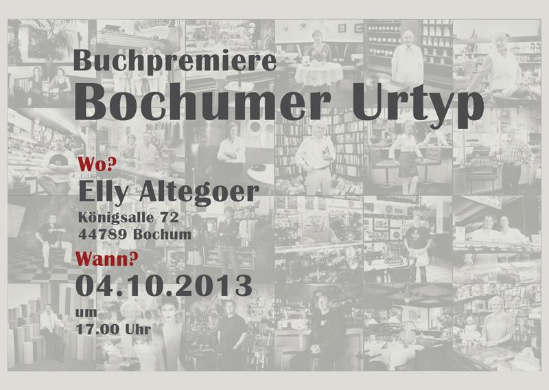 Buchpremiere Bochumer Urtyp