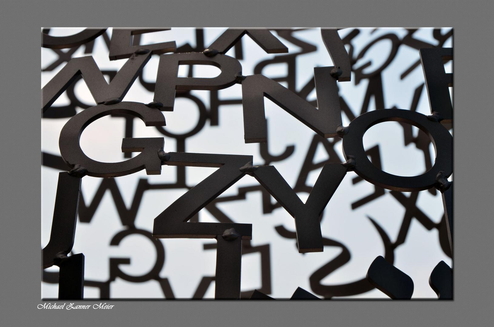 Buchstabenwirrwarr
