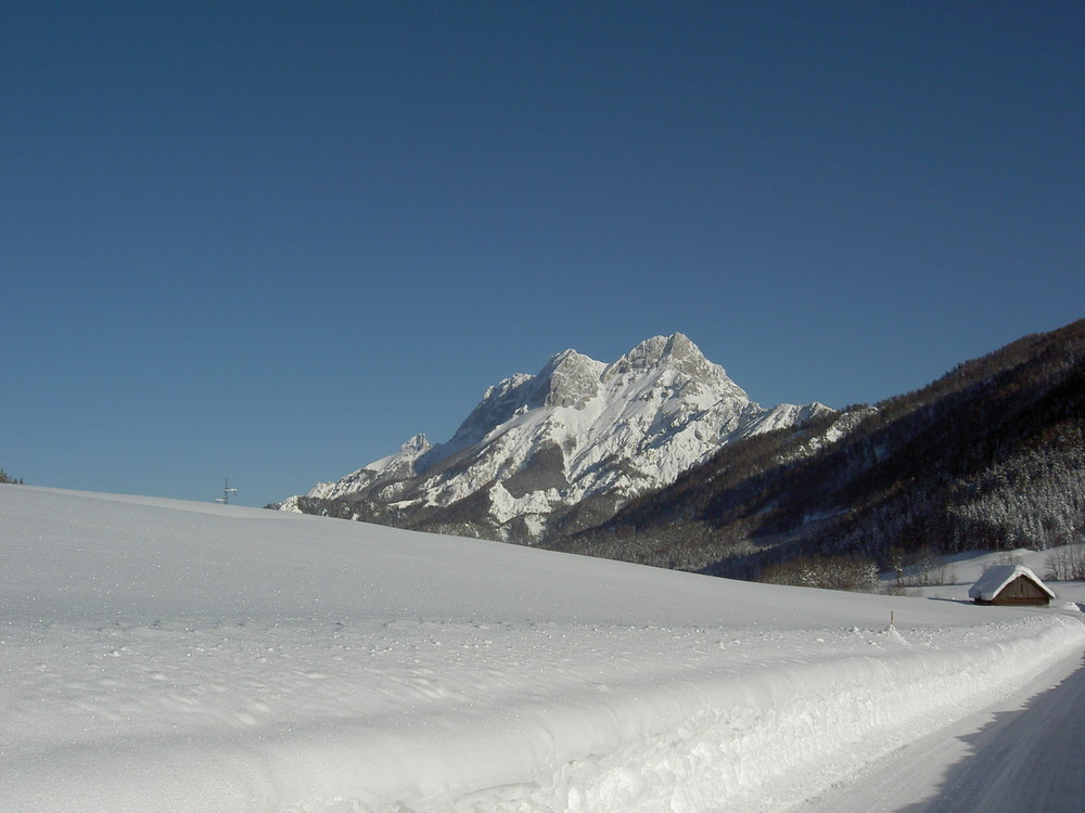 Buchstein im Schnee